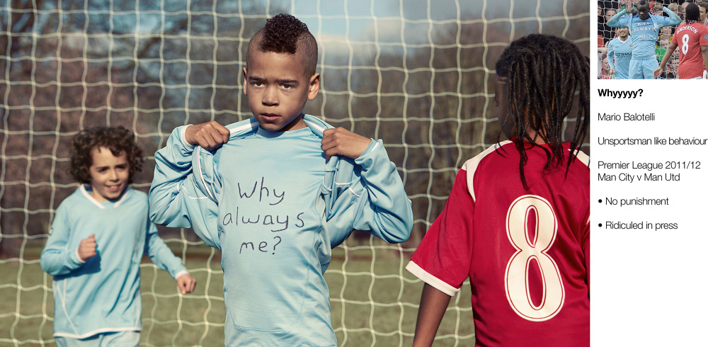 Kids recreate famous footy moments ft. Suarezs bite v Chelsea, Cantonas kung fu kick (Pictures)