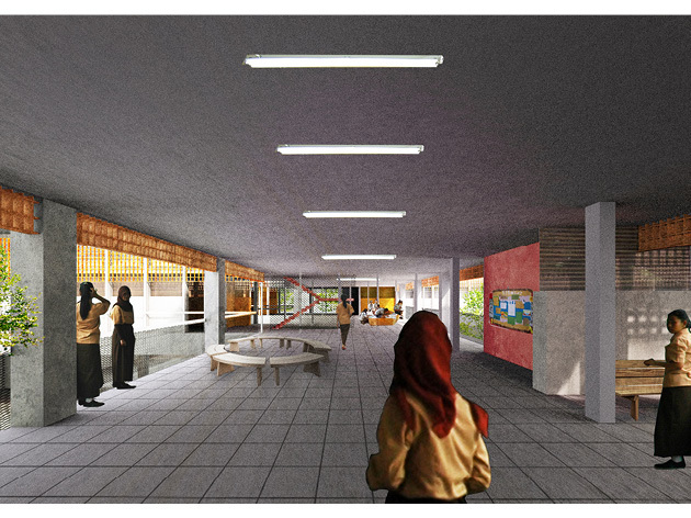 This Is A Proposal For School Typology Competition In Jakarta The Outcome Of Will Be Used As Guidelines To Revitalize Schools